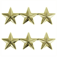 Vanguard GOLD STARS: 3 STAR CLUTCH BACK