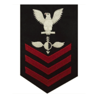 Vanguard NAVY E6 MALE RATING BADGE: AEROGRAPHER'S MATE