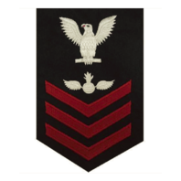 Vanguard NAVY E6 MALE RATING BADGE: AVIATION ORDNANCEMAN