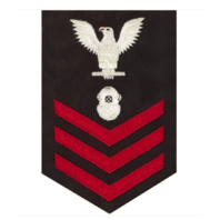 Vanguard NAVY E6 MALE RATING BADGE: NAVY DIVER