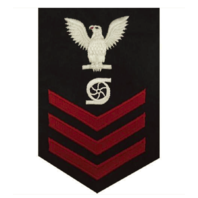 Vanguard NAVY E6 MALE RATING BADGE: GAS TURBINE SYSTEM TECHNICIAN