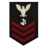 Vanguard NAVY E6 MALE RATING BADGE: NAVY COUNSELOR