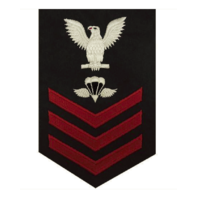 Vanguard NAVY E6 MALE RATING BADGE: AIRCREW SURVIVAL EQUIPMENTMAN