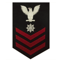 Vanguard NAVY E6 MALE RATING BADGE: QUARTERMASTER