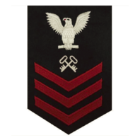 Vanguard NAVY E6 MALE RATING BADGE: LOGISTICS