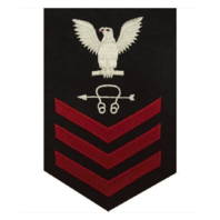 Vanguard NAVY E6 MALE RATING BADGE: SONAR TECHNICIAN