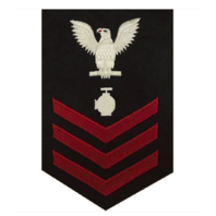 Vanguard NAVY E6 MALE RATING BADGE: UTILITIESMAN