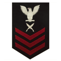 Vanguard NAVY E6 MALE RATING BADGE: YEOMAN