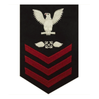 Vanguard NAVY E6 FEMALE RATING BADGE: AVIATION BOATSWAIN'S MATE