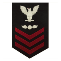 Vanguard NAVY E6 FEMALE RATING BADGE: AVIATION ELECTRICIAN'S MATE