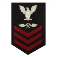 Vanguard NAVY E6 FEMALE RATING BADGE: AVIATION STRUCTURE MECHANIC