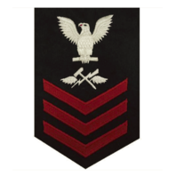 Vanguard NAVY E6 FEMALE RATING BADGE: AVIATION SUPPORT EQUIPMENT TECHNICIAN