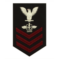 Vanguard NAVY E6 FEMALE RATING BADGE: AVIATION ANTISUB WARFARE OPERATOR