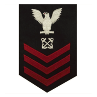 Vanguard NAVY E6 FEMALE RATING BADGE: BOATSWAIN'S MATE