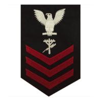 Vanguard NAVY E6 FEMALE RATING BADGE: CONSTRUCTION ELECTRICIAN