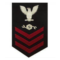 Vanguard NAVY E6 FEMALE RATING BADGE: CONSTRUCTION MECHANIC
