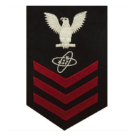 Vanguard NAVY E6 FEMALE RATING BADGE: ELECTRONICS TECHNICIAN