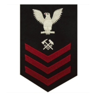 Vanguard NAVY E6 FEMALE RATING BADGE: HULL MAINTENANCE TECHNICIAN