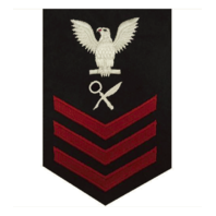Vanguard NAVY E6 FEMALE RATING BADGE: INTELLIGENCE SPECIALIST