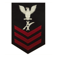 Vanguard NAVY E6 FEMALE RATING BADGE: LEGALMAN