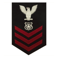 Vanguard NAVY E6 FEMALE RATING BADGE: MASTER AT ARMS
