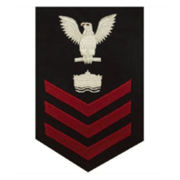 Vanguard NAVY E6 FEMALE RATING BADGE: MINEMAN