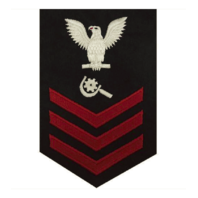 Vanguard NAVY E6 FEMALE RATING BADGE: MACHINERY REPAIRMAN