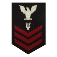 Vanguard NAVY E6 FEMALE RATING BADGE: MUSICIAN
