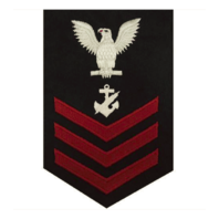 Vanguard NAVY E6 FEMALE RATING BADGE: NAVY COUNSELOR