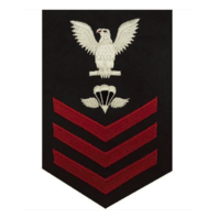 Vanguard NAVY E6 FEMALE RATING BADGE: AIRCREW SURVIVAL EQUIPMENTMAN
