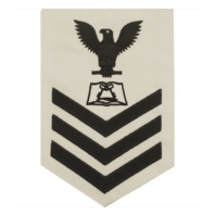 Vanguard NAVY E6 MALE RATING BADGE: CULINARY SPECIALIST - WHITE