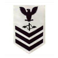 Vanguard NAVY E6 FEMALE RATING BADGE: AVIATION MAINTENANCE - WHITE
