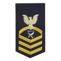 Vanguard COAST GUARD E7 RATING BADGE: CULINARY SPECIALIST - BLUE