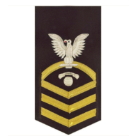 Vanguard NAVY E7 MALE RATING BADGE: INTERIOR COMMUNICATIONS ELECTRICIAN VANCHIEF