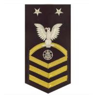 Vanguard NAVY E9 MALE RATING BADGE: RELIGIOUS PROGRAMS SPECIALIST VANCHIEF BLUE
