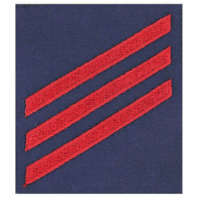 Vanguard COAST GUARD RATTING BADGE: GROUP RATE E3 FIREMAN - BLUE SERGE