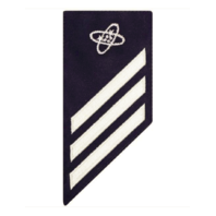 Vanguard COAST GUARD E3 RATING BADGE: ELECTRONICS TECHNICIAN - BLUE
