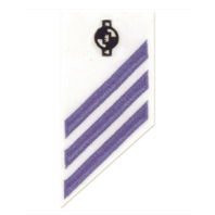 Vanguard NAVY E-3 COMBO RATE: ENGINEERING AIDE ON WHITE WORKING UNIFORM