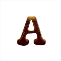 Vanguard RIBBON ATTACHMENTS: LETTER A - BRONZE