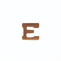 Vanguard RIBBON ATTACHMENTS: LETTER E - BRONZE