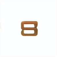 Vanguard RIBBON ATTACHMENTS: LETTER S - BRONZE