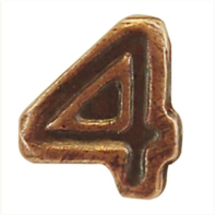 Vanguard RIBBON ATTACHMENTS: STRIKE FLIGHT NUMBER 4 - BRONZE