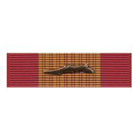 Vanguard RVN Vietnam Armed Forces Gallantry Cross Ribbon Unit With Palm