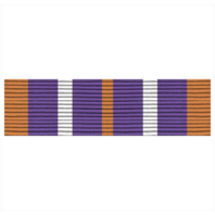 Vanguard ARMY ROTC RIBBON UNIT: N-4-6: AJROTC SERVICE LEARNING