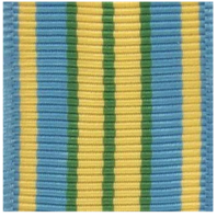 (Miniature) Vanguard Outstanding Volunteer Service Ribbon Yardage (per yard)