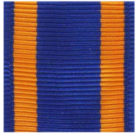 (Miniature) Vanguard Air Medal Ribbon Yardage (per yard)