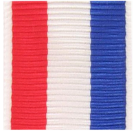(Miniature) Vanguard Coast Guard 9-11 D.O.T Ribbon Yardage (per yard)