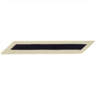 Vanguard NAVY ENLISTED HASHMARKS: BLUE EMBROIDERED ON WHITE CNT - SET OF 1