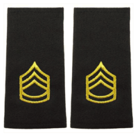 Vanguard ARMY EPAULET: SERGEANT FIRST CLASS - LARGE