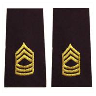 Vanguard ARMY EPAULET: MASTER SERGEANT - LARGE